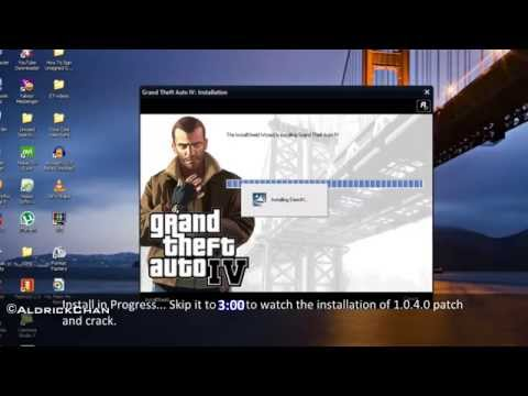 How To Install+Patch(1.0.4.0)+Crack On GTA 4 PC [1080p HD]