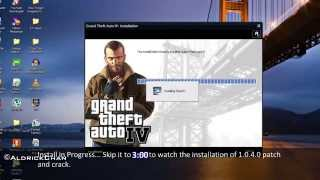 vuclip How to Install+Patch(1.0.4.0)+Crack on GTA 4 PC [1080p HD]