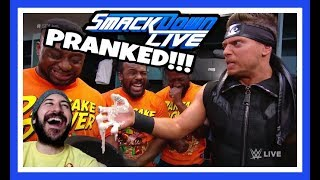 FUNNY REACTION | NEW DAY PRANK THE MIZ!!! | WWE Smackdown Live June 5th 2018