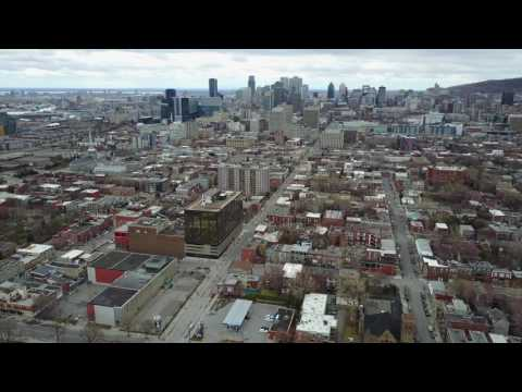 Montréal by Drone
