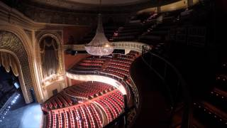 2015 Pabst Theater Chandelier Cleaning