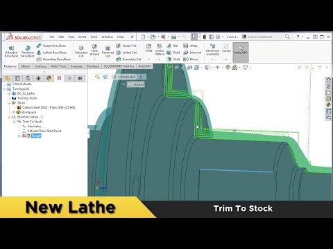 Completely Enhanced Lathe System - What's New in BobCAM for SOLIDWORKS™