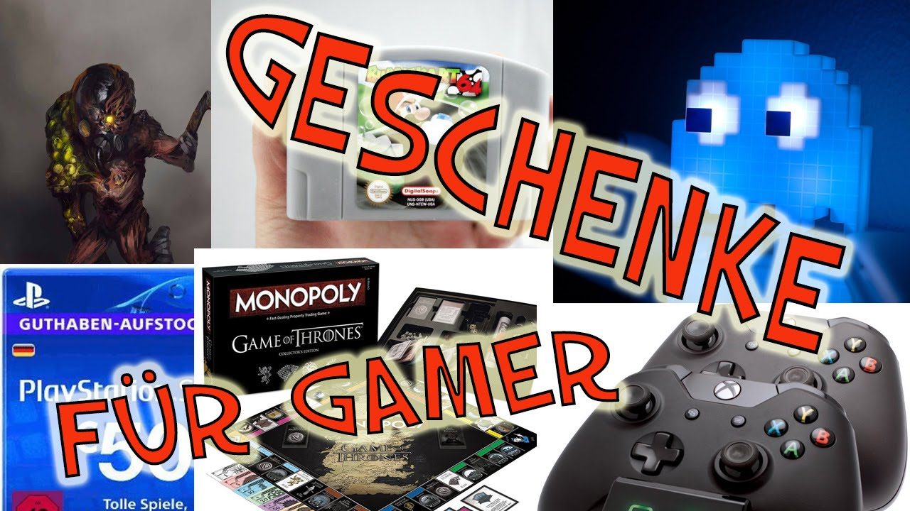 geschenke f r gamer part 1 youtube