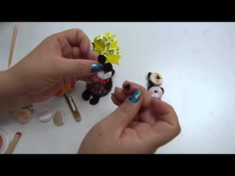 Diy carita de osos para decorar manualidades accesorios for Accesorios para decorar