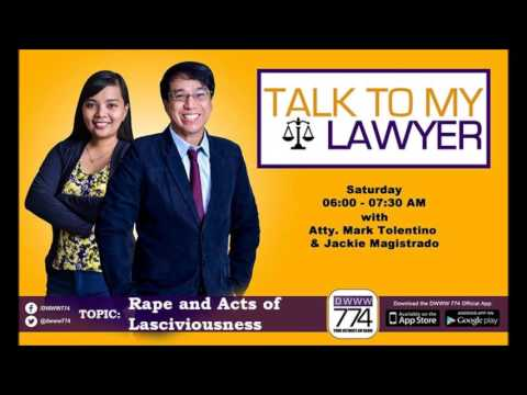 Rape and Acts of Lasciviousness