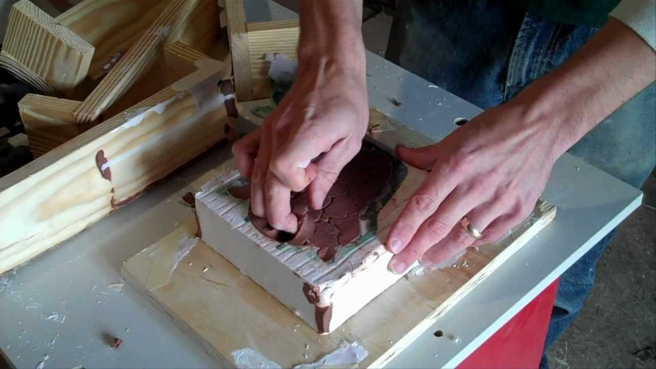 Making a Plaster Mold - YouTube