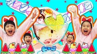 Ice cream toy store play  아이스크…