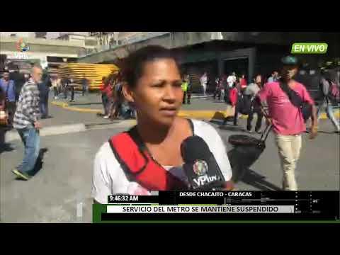 Venezuela. Explosión en Metro de Caracas generó caos en la ciudad -VPItv