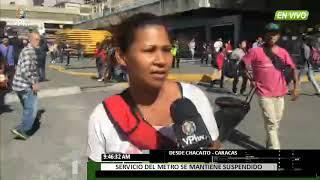 Venezuela. Explosión en Metro de Caracas generó caos en la...