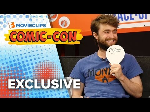 Tag It! Game - Daniel Radcliffe & James McAvoy - Comic-Con (2015) HD