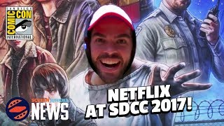 Stranger Things, The Defenders, and More at Comic-Con 2017!
