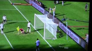 FIFA World Cup 2010 Germany vs Serbia  0-1 HD 720p goal gol highlights thumbnail