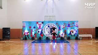 Чир Спорт 2021  - 063 - Казимирова София, Чеботарь Эльдар, Регион 11, Сыктывкар