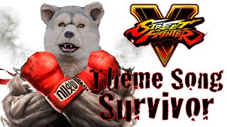 STREET FIGHTER V / Main Theme Song MAN WITH A MISSION「Survivor」Co...