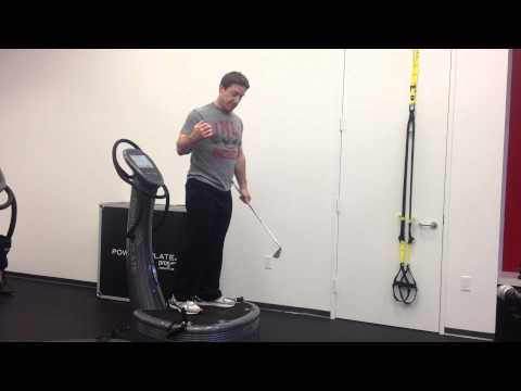 Power Plate Golf Program