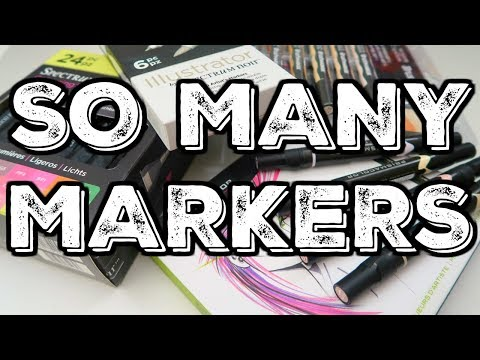 DICK BLICK ART HAUL | SO MANY NEW MARKERS!