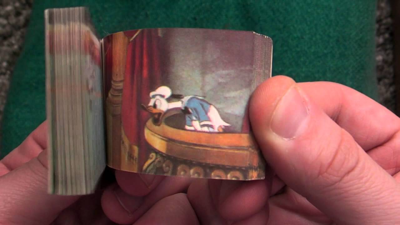 donald duck mickey mouse disney flipbook with magic youtube