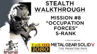 Metal Gear Solid V: The Phantom Pain Stealth Walkthrough - Mission #8 - S-RANK
