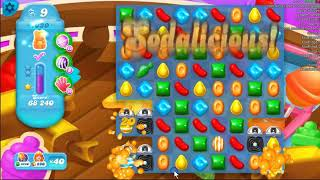 Candy Crush Soda Saga Level 1030 and level 1031, played by Blogging Witch Peetra.