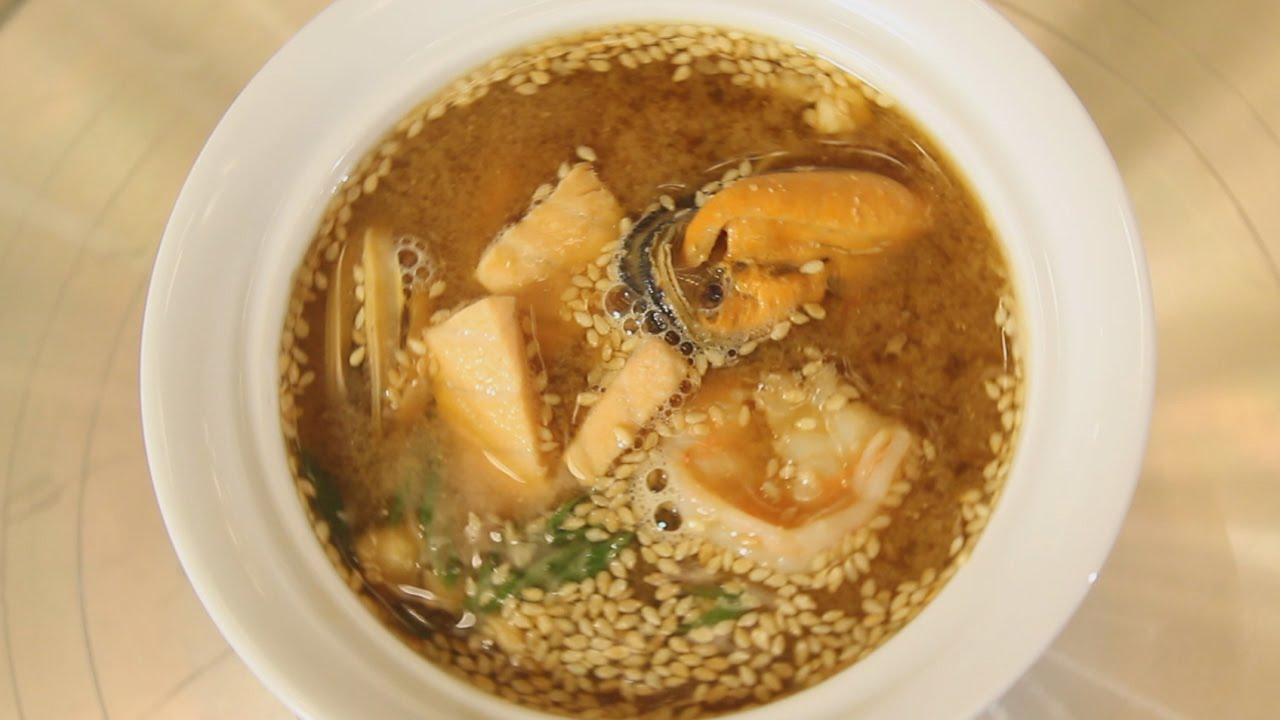 рецепт мисо суп с угрем рецепт