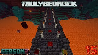 Truly Bedrock Season 2 Episode 15:Gold Farm Work, Portal Linking, and My Obsession