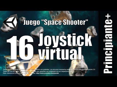 16 - Joystick Virtual - Tutorial Space Shooter en Unity