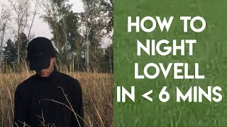 How to Night Lovell in Under 6 Minutes | FL Studio Trap and Rap Tutorial