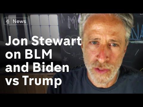 Jon Stewart on Black Lives Matter, Biden vs Trump and 'Irresistible'