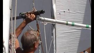 Twizzle Rig 4 downwind Trades sailing - 2