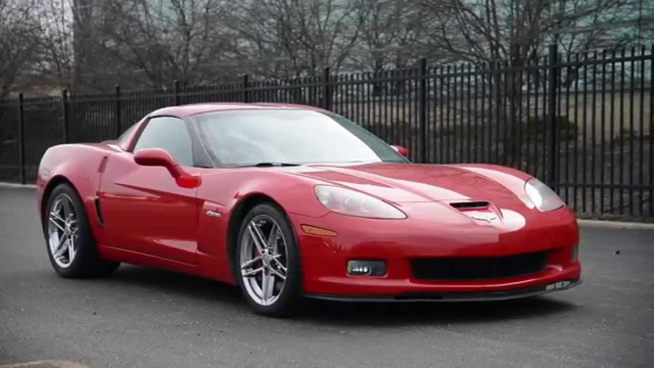 Michelin Pilot Sport 4 >> 2006 Chevrolet Corvette Z06 - WR TV Sights & Sounds - YouTube