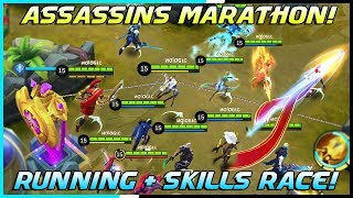 Assassins Running + Skills Race Tournament! | Mobile Legends Bang Bang | MLBB