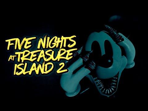 FIVE NIGHTS AT TREASURE ISLAND 2 & NIGHTMARE BEFORE DISNEY - FNAF Fan Made | iTownGamePlay