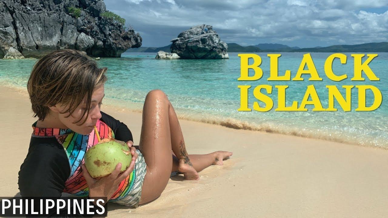 Mysterious and Beautiful Black Island: Coron Island, Philippines
