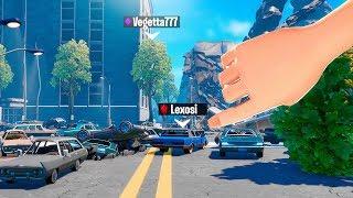 Prop Hunt: Aliens y coches, MUCHOS coches..