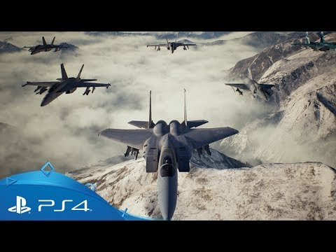 Ace Combat 7: Skies Unknown | Release Date Trailer | PS4