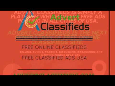 Advert Classifieds offers post free ads