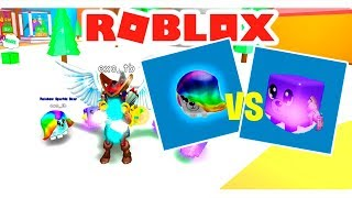 THANOS PET VS RAINBOW PET IN ROBLOX