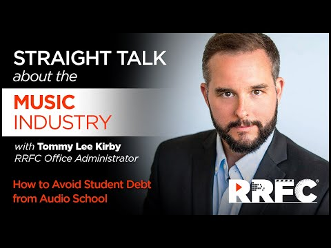How to Avoid Student Debt from Audio School