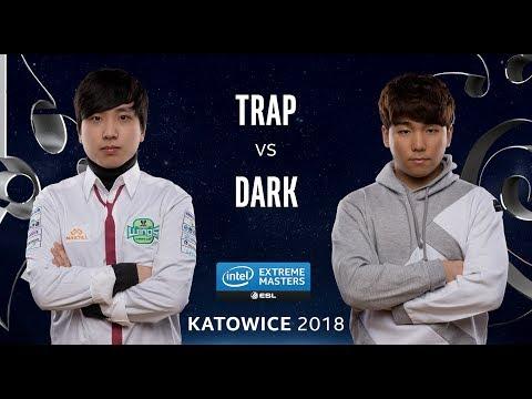 StraCraft II - Trap [P] vs. Dark [Z] - Ro12 - IEM Katowice 2018