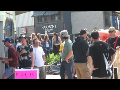 James Franco in Dunnville Ontario Canada