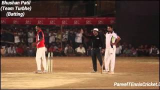 Bhushan Patil  Batting (  Turbhe Team )   Balaram Patil Chashak 2016 ( Kalamboli )