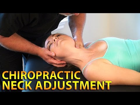 First Time Chiropractic Exam & Neck Adjustment For Neck Pain Relief & Neck Problems