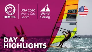 Day 4 Highlights | Hempel World Cup Series Miami 2020