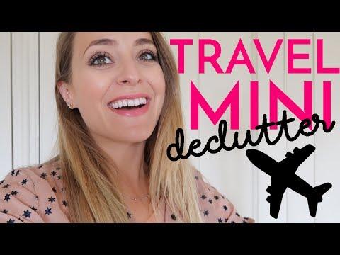 DECLUTTERING My Travel Mini's! | Fleur De Force