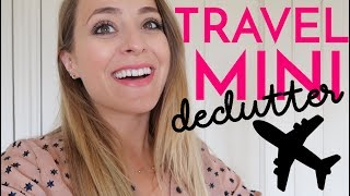 DECLUTTERING My Travel Mini's! | Fleur De Force