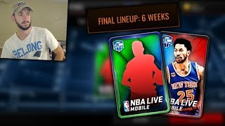 Keeping Your Lineup For NBA Live Mobile 18 and New Offseason Movers Program!!