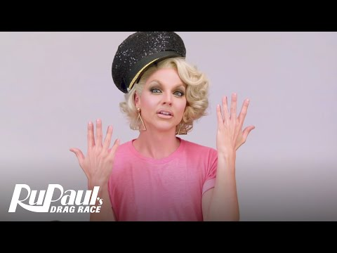 RuVealing Courtney Act's 'Slutty Stewardess' Makeup Tutorial | RuPaul's Drag Race | Logo