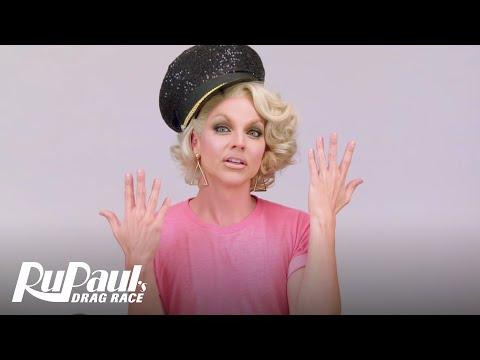 Drag Makeup Tutorial: Courtney Act's Slutty Stewardess | RuPaul's Drag Race | Logo