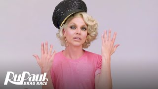 Drag Makeup Tutorial: Courtney Act's Slutty Stewardess | RuPaul's Drag Race | Logo