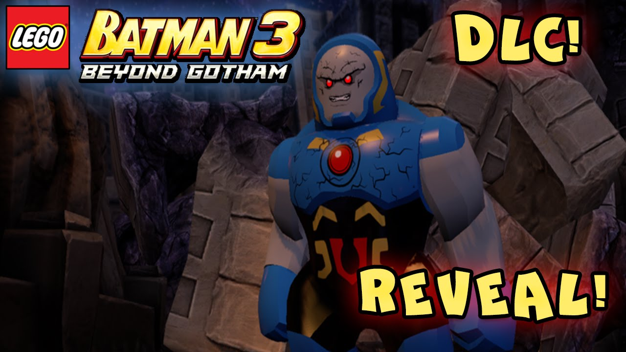 LEGO BATMAN 3 - BEYOND GOTHAM - DARKSEID, ARSENAL, & GUY ...